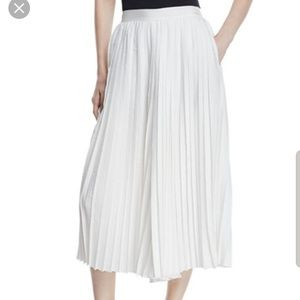Vince Accordion Pleat Culotte Pants
